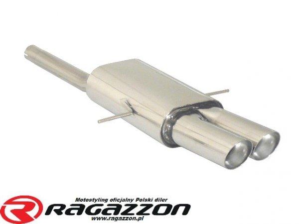 Tłumik końcowy środkowy RAGAZZON EVO LINE sportowy wydech