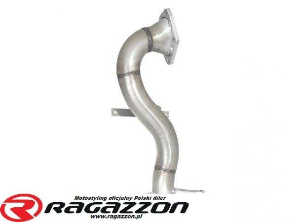 Downpipe kit przelotowy RAGAZZON Volkswagen Golf V VI Scirocco Beetle 1.4 TSI GT sportowy wydech