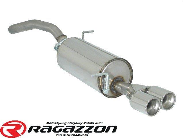 Tłumik Końcowy Ragazzon Evo Line Sportowy Wydech 18 Turbo Fr