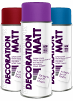 DECO MATT Farby matowe w sprayu