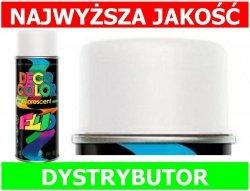 Lakier farba fluorescencyjny fluo spray biały 400 ml