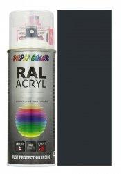 Motip lakier grafitowy czarny farba połysk 400 ml akrylowy acryl szybkoschnący RAL 9011