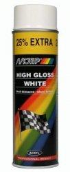 MOTIP lakier CZARNY PÓŁMAT akrylowy SPRAY 500 ml