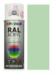 MOTIP lakier zielony pastelowy farba połysk 400 ml akrylowy acryl szybkoschnący RAL 6019