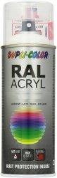 MOTIP lakier czarny głęboki farba półmat 400 ml akrylowy acryl szybkoschnący RAL 9005