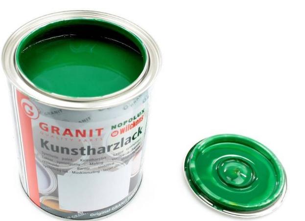 Farba lakier kverneland zielony 1 l NOPOLUX WILCKENS