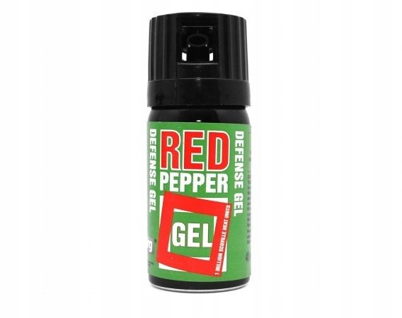 Gaz pieprzowy żelowy - spray Defence Green (40ml