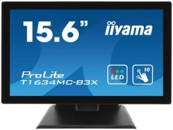 Monitor Iiyama T1634MC-B5X 15,6 10point touch, D-Sub/HDMI/DP,