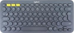 Logitech Multi-Device Bluetooth® Keyboard K380 - ciemnoszara - (US INTL)