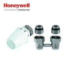 Zestaw Przyłączeniowy Kątowy Honeywell do Grzejników VK