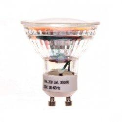 Żarówka LED GU10 3W 200lm 3000K 230V - YASSNO YB-01-001