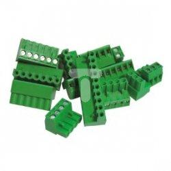 Wtyk śrubowy do płytek drukowanych zielony CTT25 maks. 16mm2 047B3076