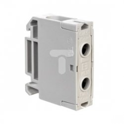 Złączka szynowa 2-przewodowa Cu 1,5-35mm2 szara KE33