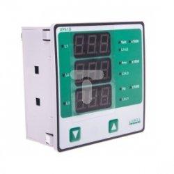Miernik parametrów sieci typ sieci 3f3p/3f4p napięcie wejściowe 57,7-290V L-N / 100-500V L-L 1 zasilanie 40-300V AC/DC VPS10 211