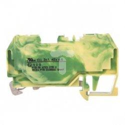 Złączka PE 2-przewodowa Ex 4mm2 żółto-zielona 281-907/999-950