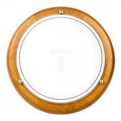 Plafoniera Kobi średnia dąb P1/2C 1x60W E27 fi300mm E14020100610