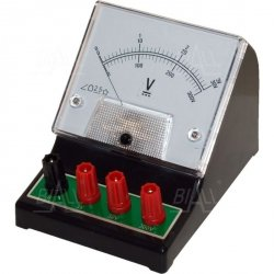 Woltomierz analog. szkolny DCV-1 3V-30V-300V DC