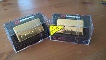 Dimarzio Air Classic Neck + Bridge GOLD