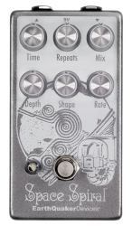 EarthQuakerDevices Space Spiral V2 - analogue-Voiced Digital Delay