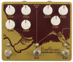 EarthQuaker Devices Hoof Reaper V2 - Dual Fuzz