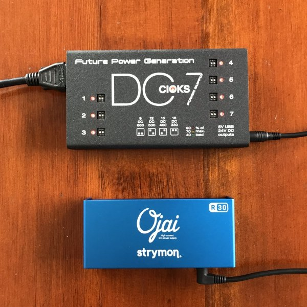 Cioks DC7 + Strymon Ojai R30 Expansion Kit