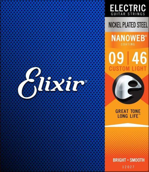 Elixir 12027 NanoWeb Custom Light 9-46
