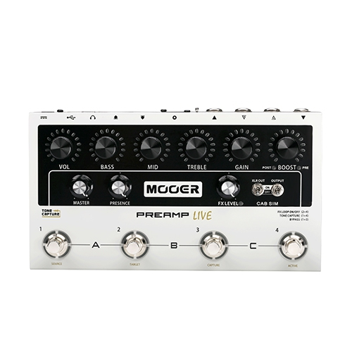 Mooer M 999 Preamp Live