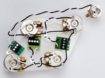 DiMarzio PAF 36th Anniversarry Set z Elektroniką do LP