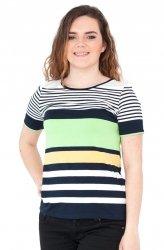 Bluzka w paski, t-shirt, Kreator Studio Mody, r.50