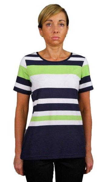 Bluzka w paski, t-shirt, Kreator Studio Mody, r.52