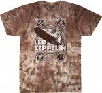 Led Zeppelin Poster - Liquid Blue