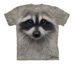 Raccoon Face - The Mountain - Koszulka  Junior