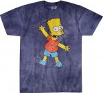 The Simpsons Bart - Liquid Blue