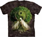 Yin Yang Tree Black - The Mountain