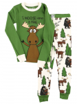 Moose Hug- Piżama Dziecięca Długi rękaw - LazyOne