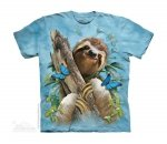 Sloth & Butterflies -Junior The Mountain