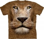 Lion Face - T-shirt The Mountain
