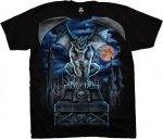 Gargoyle Moon - Liquid Blue
