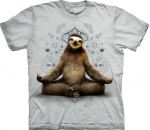 Vriksasana Sloth Yoga Beige - The Mountain