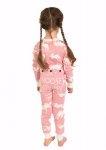 Classic Moose Pink Flapjack - Dziecięca Piżama Pajac - LazyOne