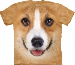 Corgi Face - T-shirt The Mountain