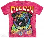 Pug Luv - T-shirt The Mountain