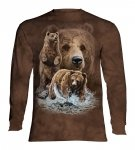 Find 10 Brown Bears  - Long Sleeve The Mountain