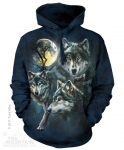Moon Wolves Collage - Bluza The Mountain