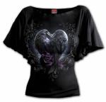 Raven Heart Bat - Spiral - Damska