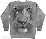 White Tiger Face - Bluza The Mountain