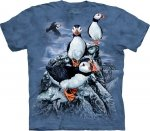 Find 10 Puffins - T-Shirt The Mountain