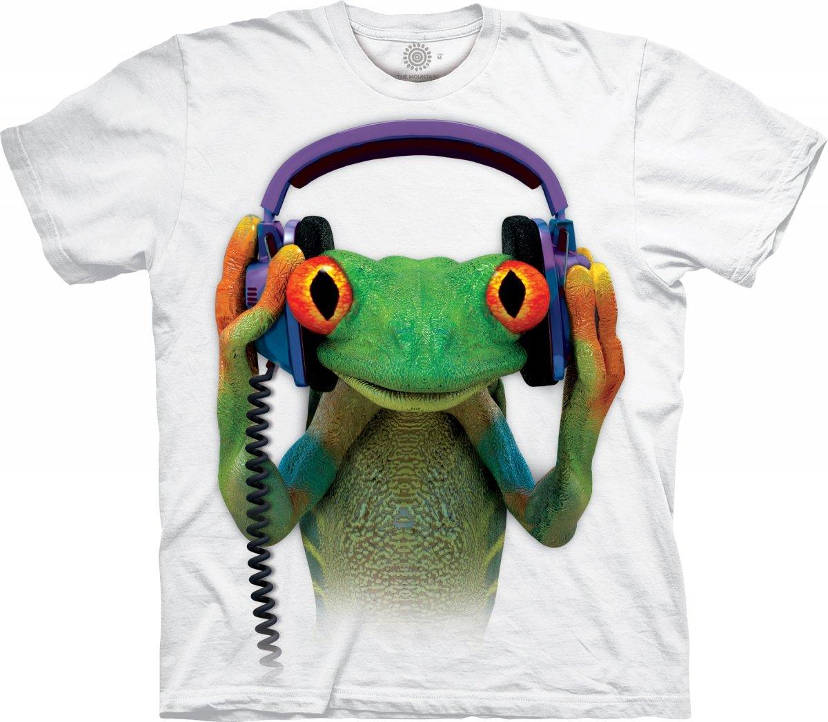 7fecc75fe715dc Sklep veoevo.pl - Koszulki Malowane Pazurem - DJ Peace Frog White ...