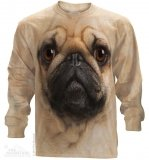 Pug Face - Long Sleeve The Mountain