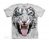 Big Face Tribal White Tiger - The Mountain Dziecięca